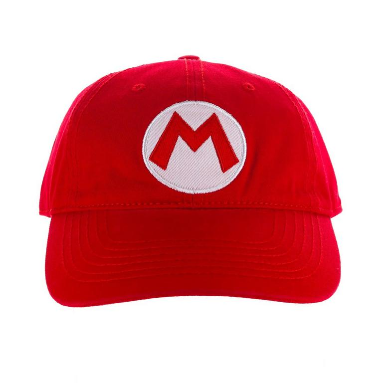 Super Mario Bros. Mario Red Flex Baseball Cap