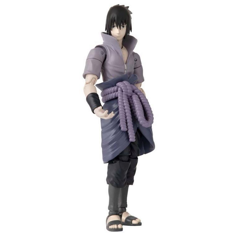 Naruto Shippuden Sasuke Uchiha Anime Heroes Action Figure