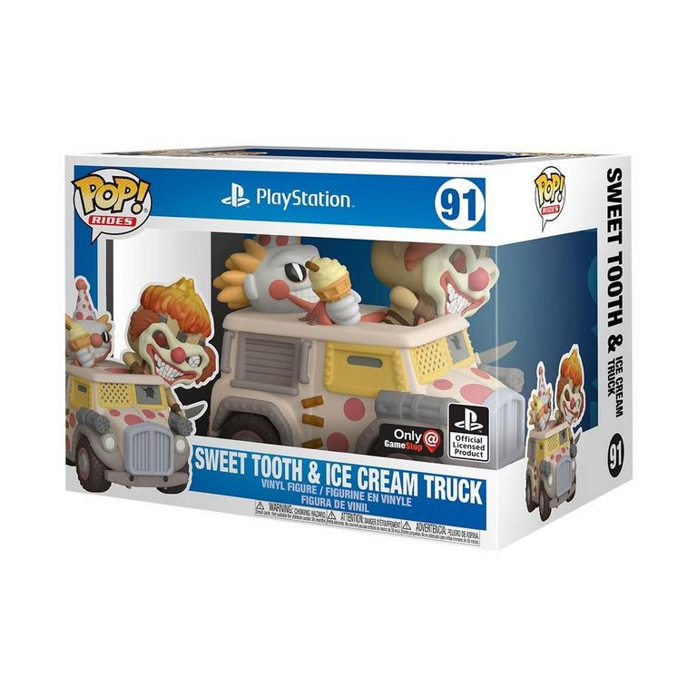 POP! Rides: Twisted Metal Sweet Tooth with Ice Cream Truck Only at GameStop