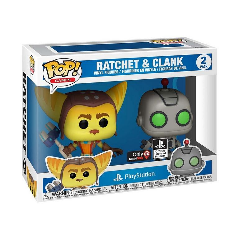 POP! Games: Ratchet and Clank 2 Pack Only at GameStop