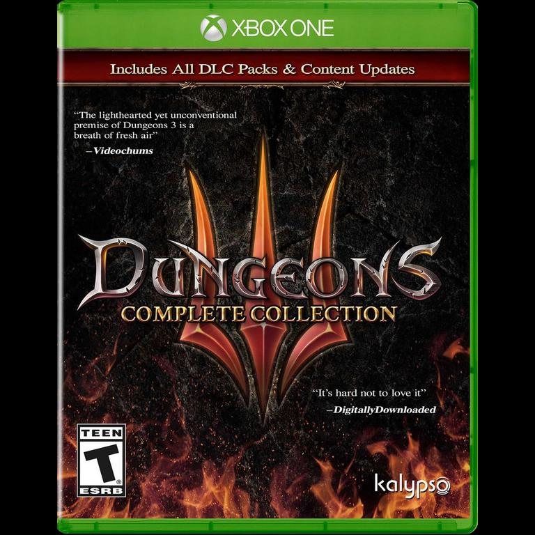Dungeons 3 Complete - PlayStation 4 Xbox One Kalypso Media