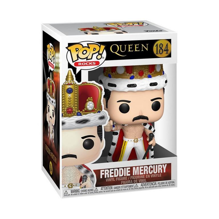 Funko POP! Rocks: Queen Freddie Mercury King