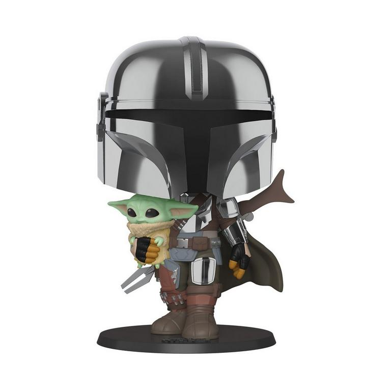 POP! Star Wars: The Mandalorian with The Child 10-inch