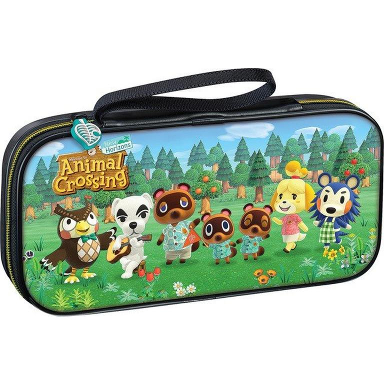 Animal Crossing New Horizons Game Traveler Deluxe Travel Case For Nintendo Switch Nintendo Switch Gamestop