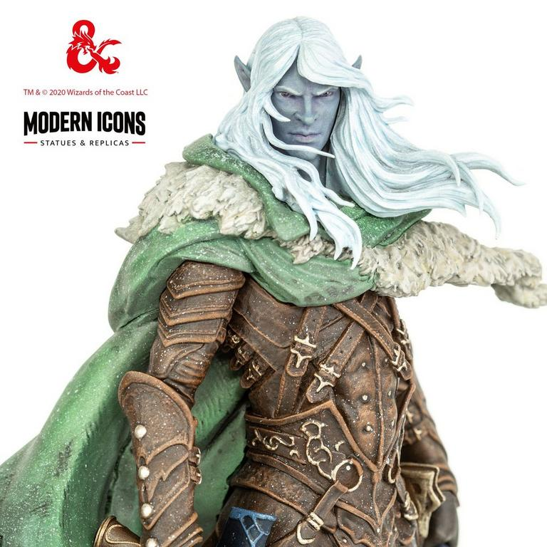 Dungeons and Dragons Drizzt Do'Urden Modern Icons Statue Only at GameStop
