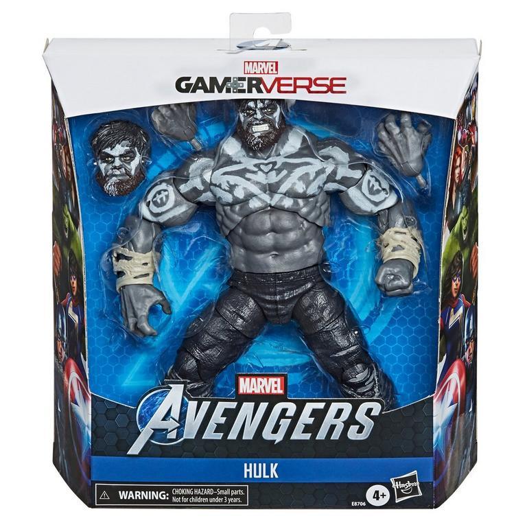 Marvel Legends Series Marvel's Avengers Hulk Gamerverse Action Figure Only at GameStop