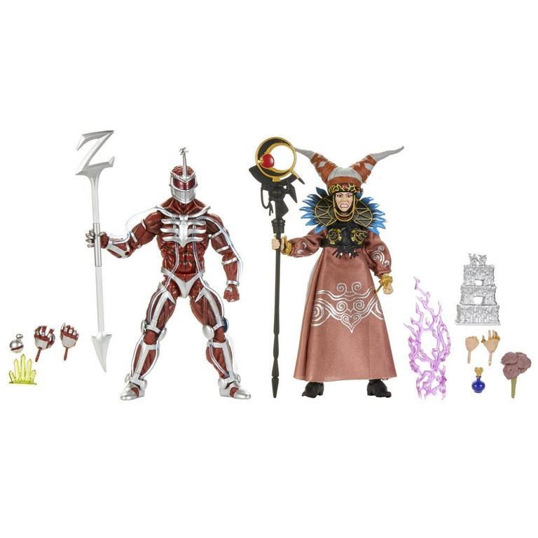 "Brand New Power Rangers Mighty Morphin LORD ZEDD 6/"" Lightning Collection Hasbro"
