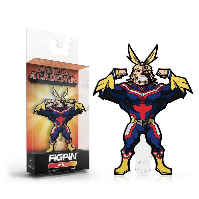 My Hero Academia All Might FiGPiN Mini Only at GameStop