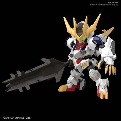 Mobile Suit Gundam: Iron-Blooded Orphans Gundam Barbatos Lupus Rex SD Cross Silhouette Model Kit