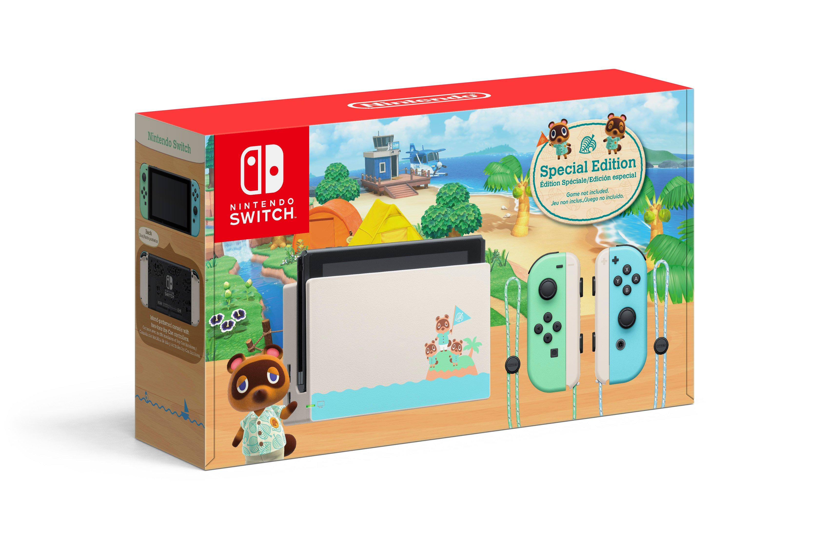 Nintendo Switch Animal Crossing New Horizons Edition Nintendo