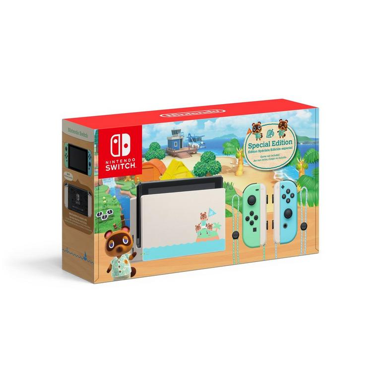 Nintendo Switch Animal Crossing: New Horizons Edition Pre-Order At GameStop Now!