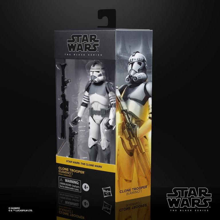 Star Wars: The Clone Wars Clone Trooper (Kamino) The Black Series Action Figure