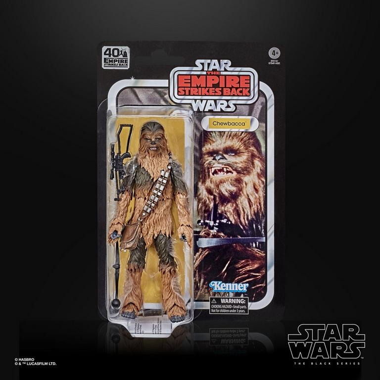 Star Wars: The Empire Strikes Back 40th Anniversary Chewbacca The Black Series Action Figure