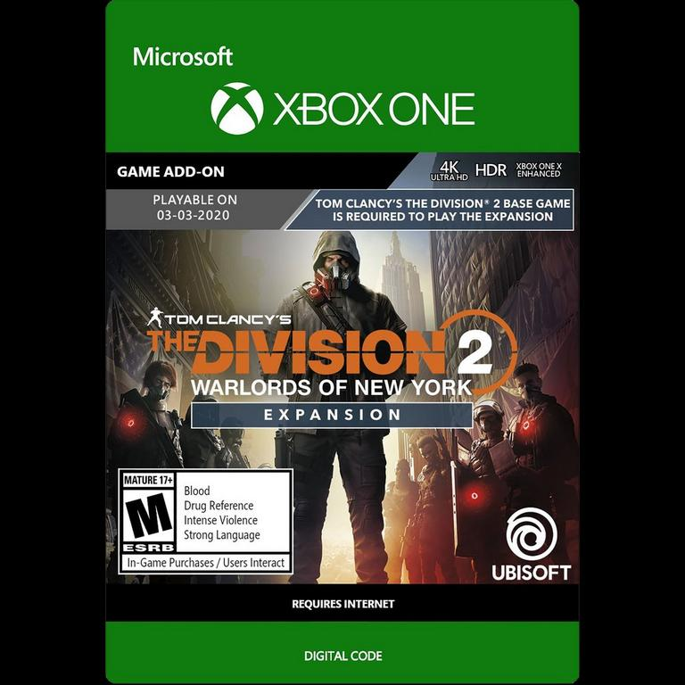 Tom Clancy S The Division 2 Warlords Of New York Expansion Xbox One Gamestop