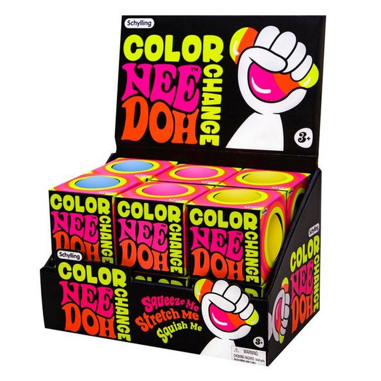 Color Changing Nee Doh (Assortment)