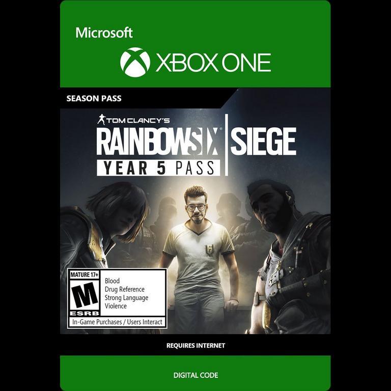 Tom Clancy S Rainbow Six Siege Year 5 Pass Xbox One Gamestop