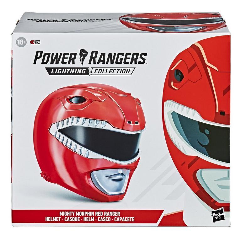 Mighty Morphin Power Rangers Lightning Collection Red Ranger Helmet