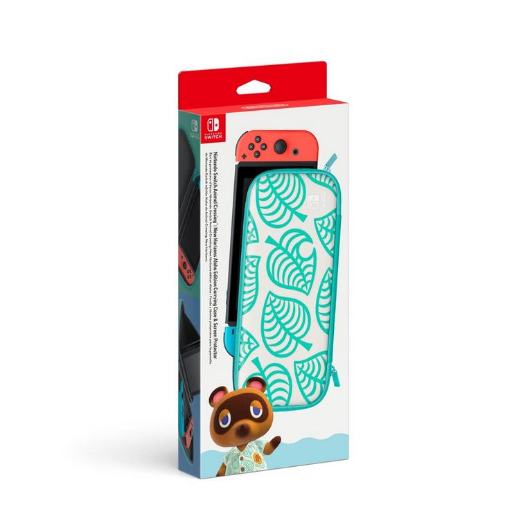 Nintendo Switch Animal Crossing New Horizons Aloha Edition Carrying Case And Screen Protector Nintendo Switch Gamestop