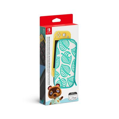 Nintendo Switch Lite Animal Crossing: New Horizons Aloha Edition Carrying Case and Screen Protector