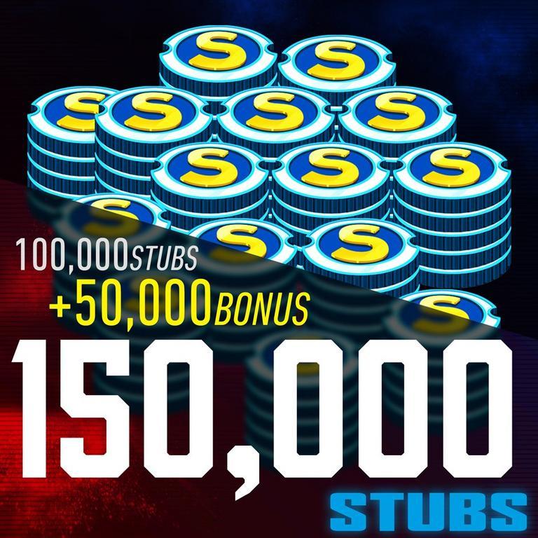 MLB The Show 20 150,000 Stubs