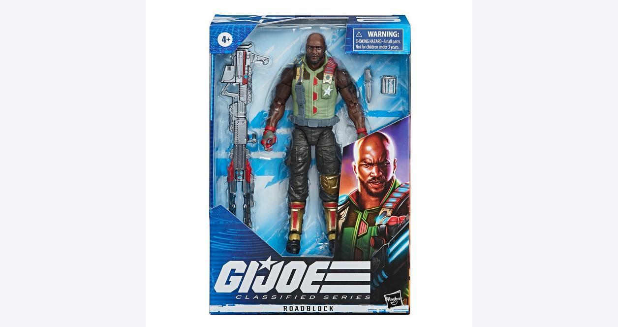 G.I. Joe Roadblock Classified Series Action Figure