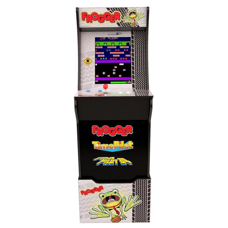 Frogger Arcade Cabinet with Riser and Stool Only at GameStop
