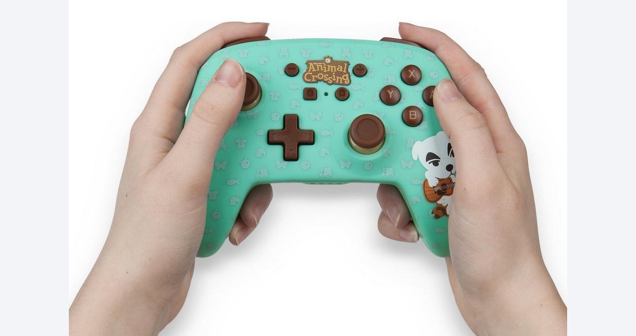 Animal Crossing: New Horizons K.K. Slider Enhanced Wireless Controller for Nintendo Switch