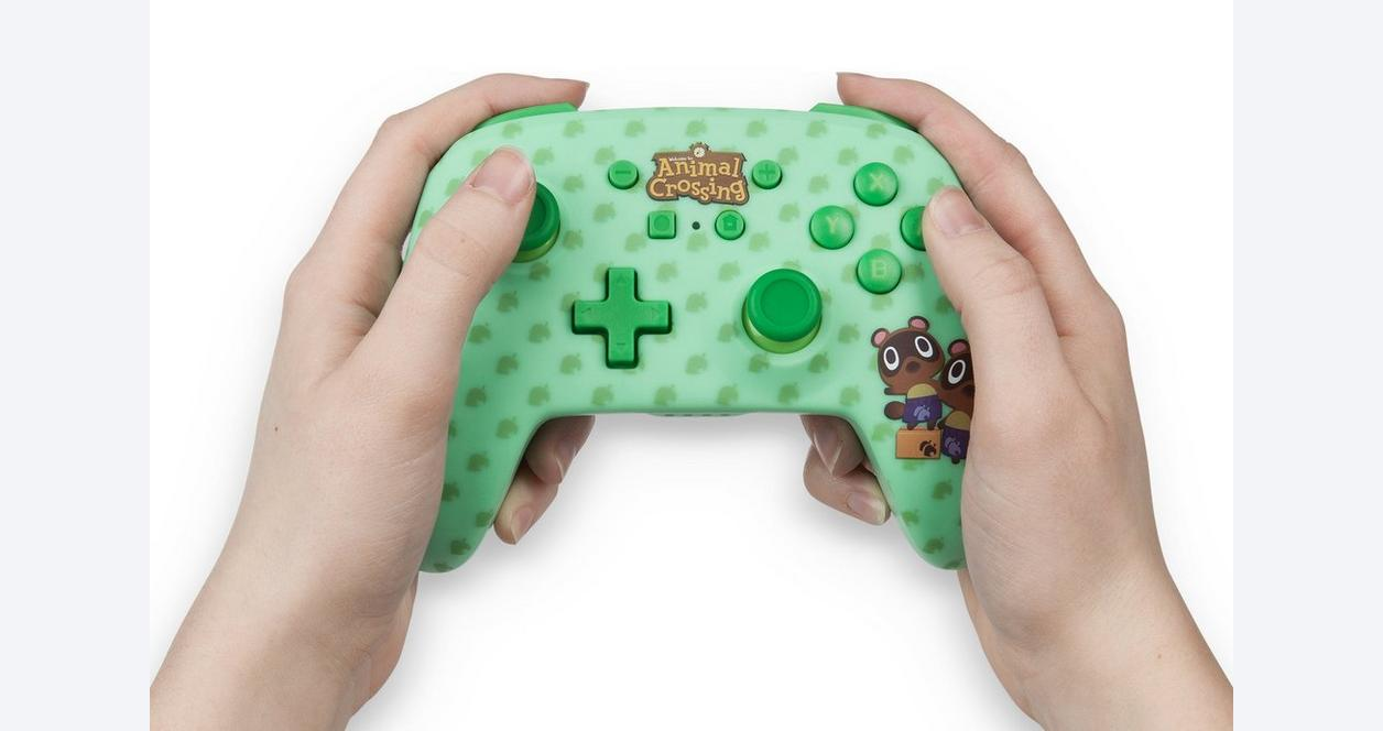 Nintendo Switch Animal Crossing: New Horizons Timmy and Tommy Nook Enhanced Wireless Controller