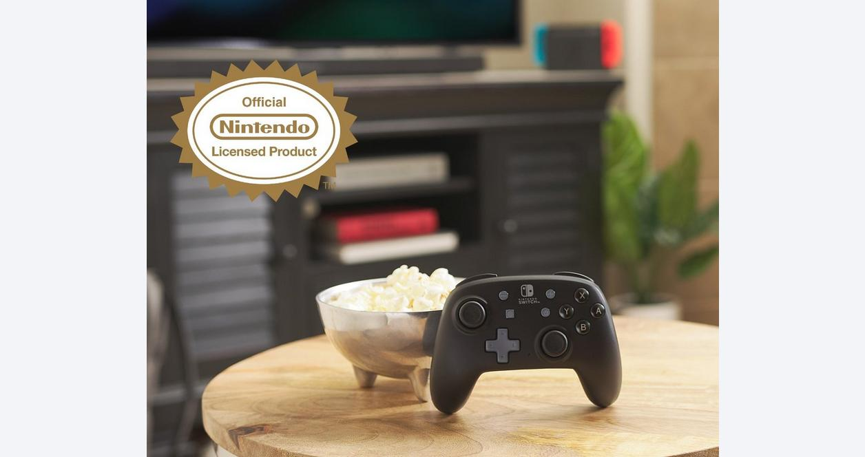 Black Nano Enhanced Wireless Controller for Nintendo Switch