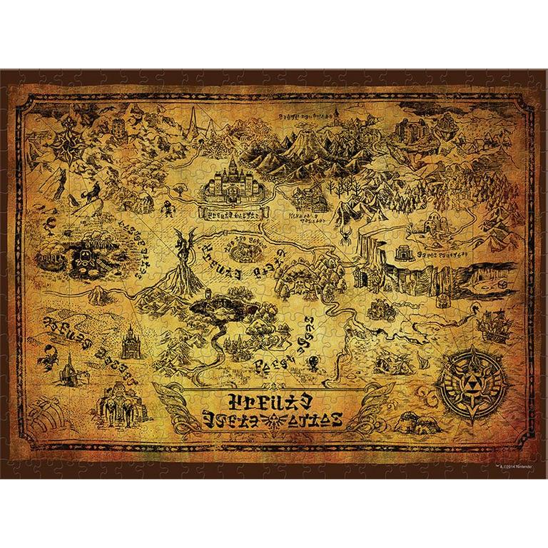 The Legend of Zelda: Hyrule Map Collector's Puzzle 550 pieces