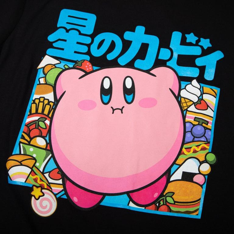 Kirby Food Kanji T-Shirt
