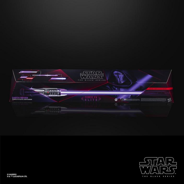 Star Wars Darth Revan The Black Series Force FX Elite Lightsaber