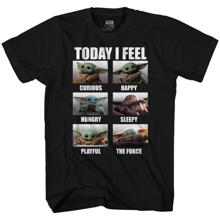 Star Wars: The Mandalorian Today I Feel T-Shirt