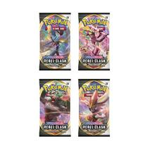 2 Pokemon Trading Card: Sword and Shield Rebel Clash Sleeved