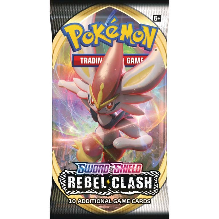 Pokemon Trading Card Game: Sword and Shield Rebel Clash Elite Trainer Box