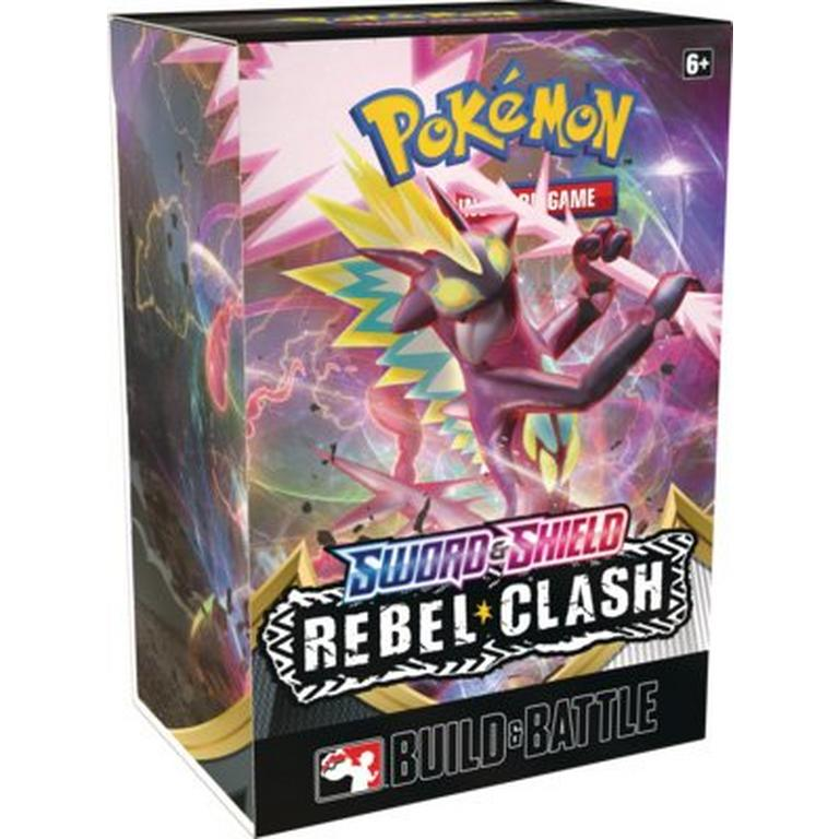 Pokemon Trading Card Game: Sword and Shield Rebel Clash Build and Battle Box