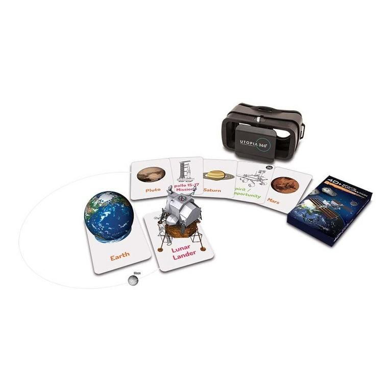 Utopia 360 Space Experience Augmented Reality Cards and VR Headset