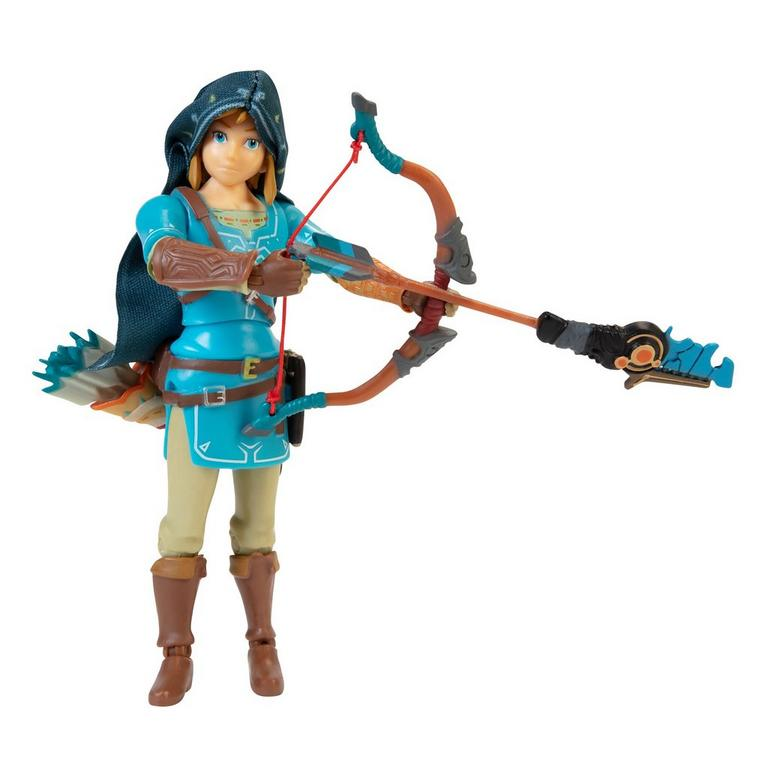 Legend of Zelda: Breath of the Wild Link Collector Action Figure Only at GameStop
