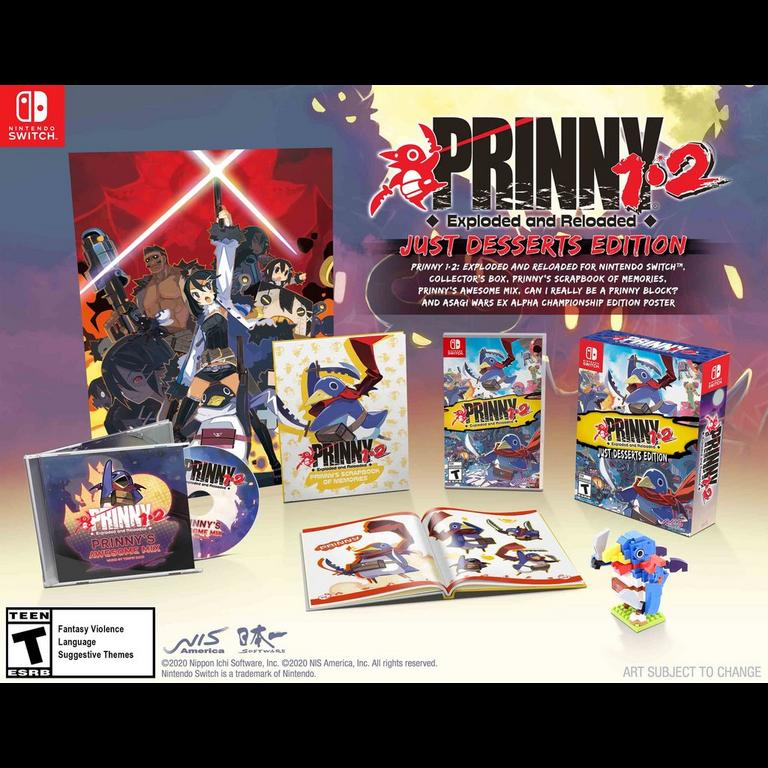 Prinny 1.2: Exploded and Reloaded Just Desserts Edition