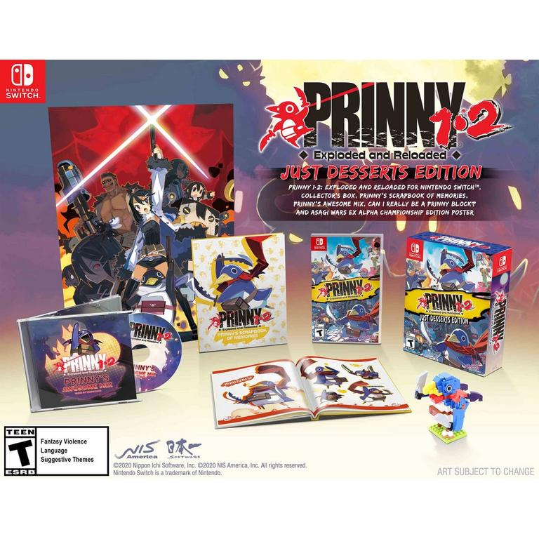 Prinny 1.2: Exploded and Reloaded Just Desserts