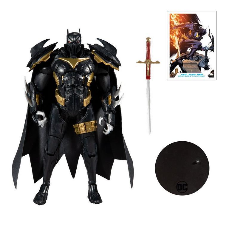 Batman: Curse of the White Knight Azrael in Batman Armor DC Multiverse Action Figure