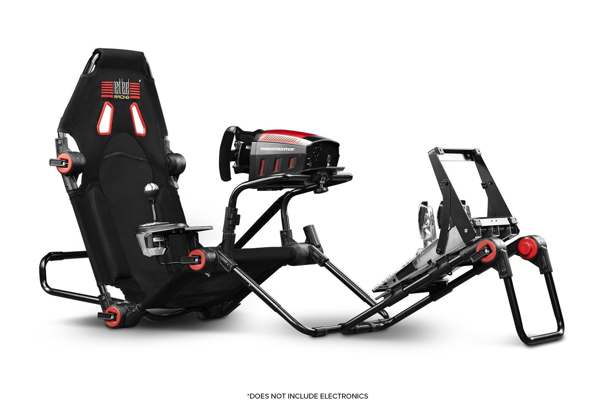 Deals on Next Level Racing F-GT Lite Black Simulator Cockpit