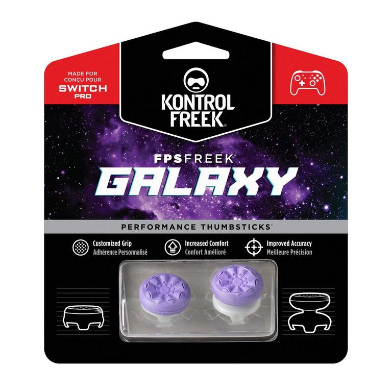 FPS Freek Galaxy Performance Thumbsticks for Nintendo Switch Pro Controller