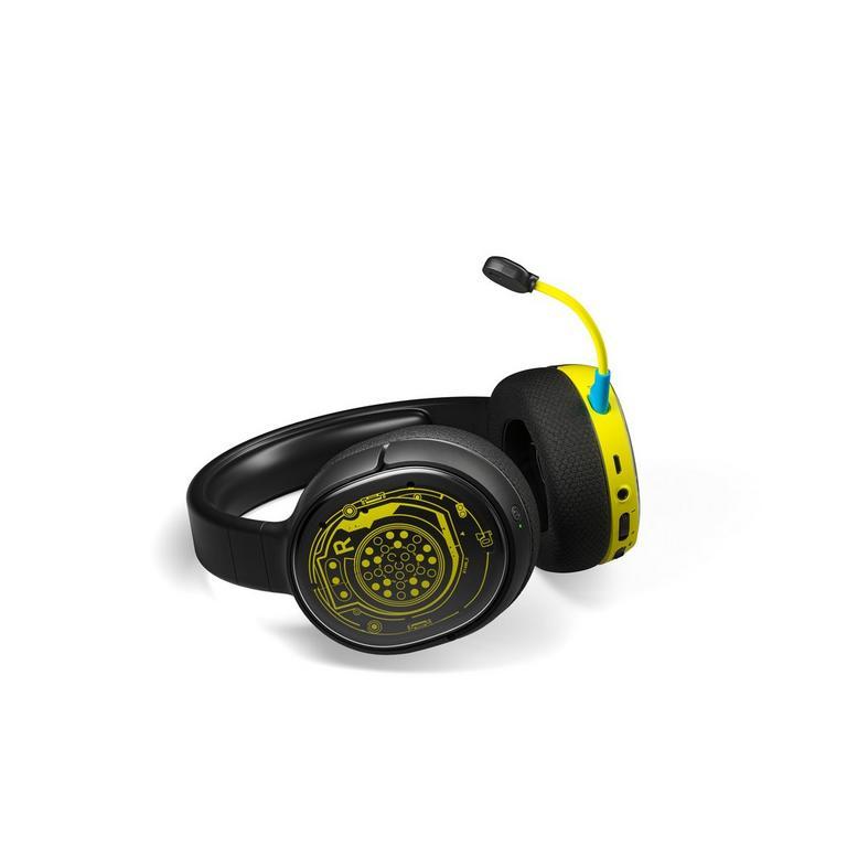 PlayStation 4 Arctis 1 Cyberpunk 2077 Netrunner Edition Wireless Gaming Headset