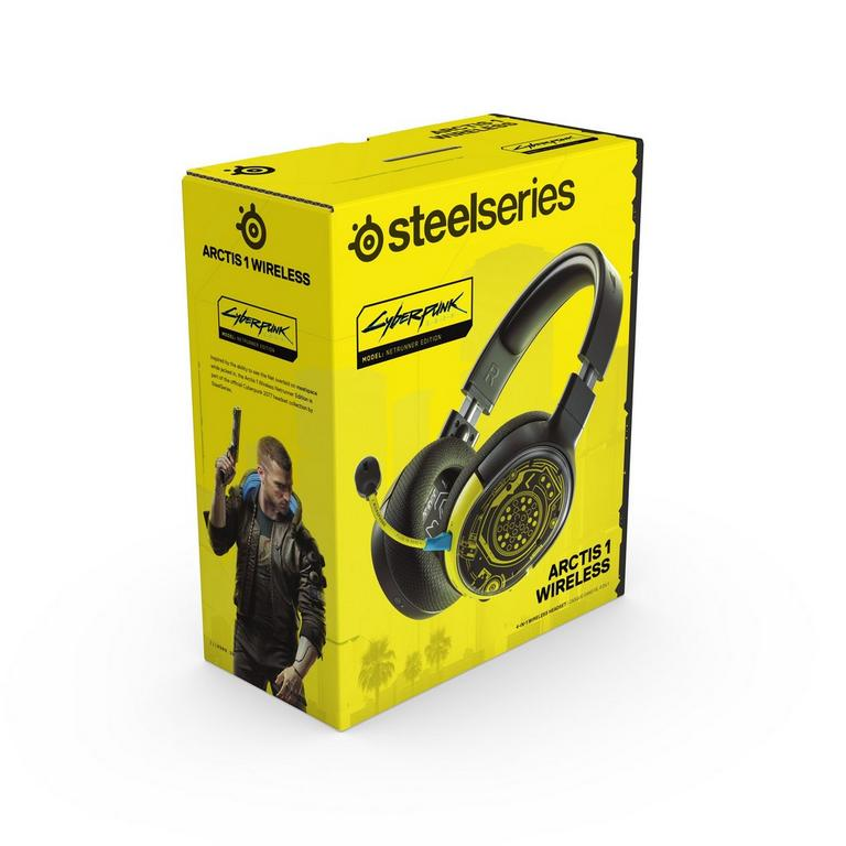 Arctis 1 Cyberpunk 2077 Netrunner Edition Wireless Gaming Headset for PlayStation 4