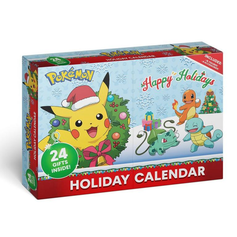 Pokemon Battle Figure Holiday Calendar