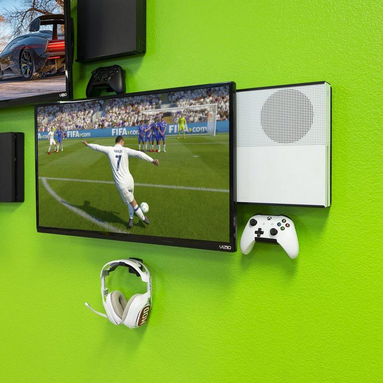 Console and 2 Controller Pro Wall Mount Bundle for Xbox One S