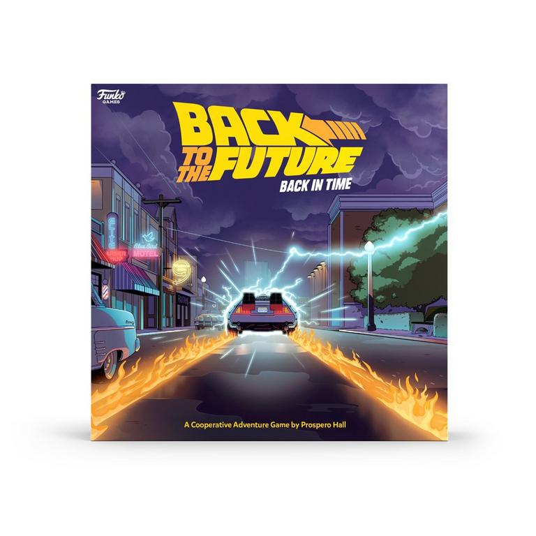 Back to the Future: Back in Time Board Game