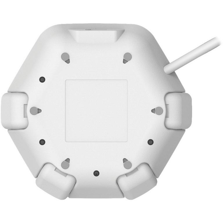 Power Office White Hub with 16 ft Cord