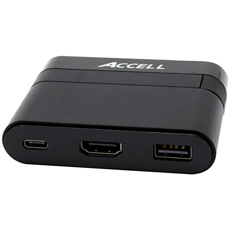 USB-C to 3 DisplayPort Multiple Display Multi-Stream Transport Hub